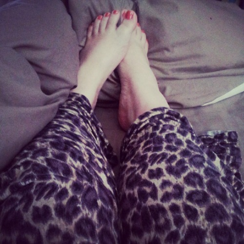 Back in my pj's :) best place to be!!
