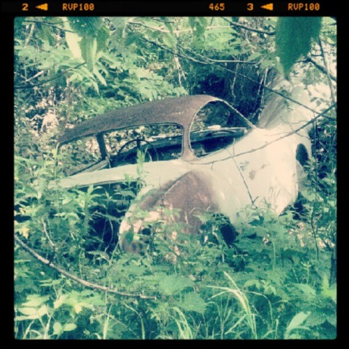 Ghia gultch #abandoned  (Taken with Instagram at San Francisco Township Hall)