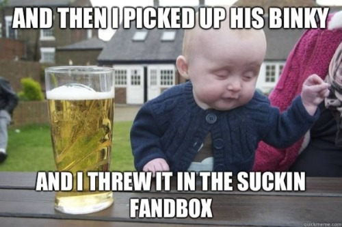 nickdouglas:  slacktory:  Introducing Drunk Baby. He is a baby who is also drunk. Eight more Drunk Baby pics over at Drunk Baby: Another Damn Baby Advice Meme  God, I love Drunk Baby.  Dang, that baby is drunk.
