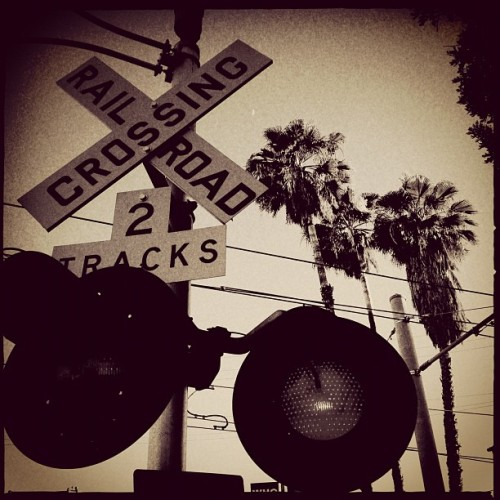 Highland park .. #trains #LA #Highlandpark  (Taken with Instagram)