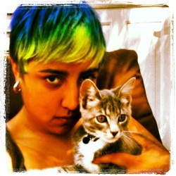 Loki and I  (Taken with Instagram)