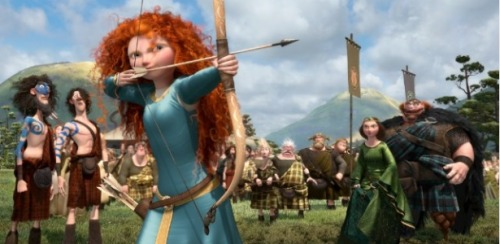 "LGBTQ* Queer Theory and Media Theory ""Does It Matter If the Heroine of 'Brave' Is Gay?"" following text from: CHRIS HELLER's article in The Atlantic  Merida, the heroine of Pixar's Brave, doesn't want to marry. Not now, she repeatedly tells her mother, Queen Elinor, and perhaps not ever. Faced with the prospect of being forced to wed one of a trio of loutish suitors, she runs away from home in search of some way to change the ""fate"" she was born into. That's the radical thing about Brave: Merida is a Disney princess who doesn't want a prince. She also happens to be a tomboy, a tough and sporty archer who would rather be riding her horse than wearing a dress. On Sunday, Entertainment Weekly's Adam Markovitz used these details to draw a connection between Brave—which racked up $66 million over the weekend—and another event in the news: Today, crowds will line the streets of cities like New York and San Francisco for parades that mark the high point of LGBT Pride Month. At the same time, legions of kids will swarm into theaters to watch Pixar's Brave, the animated story of a young Scottish princess named Merida who goes to extreme lengths to avoid having to marry one of the three noblemen that her parents have chosen for her. The two events don't seem to have much in common at first glance. But it's quite possible that while watching Brave's tomboyish heroine shoot arrows, fight like one of the boys, and squirm when her mother puts her in girly clothes, a thought might pop into the head of some viewers: Is Merida gay? While Markovitz's appeal to lesbian stereotypes is outrageous, his underlying question isn't. Merida really could be gay. She could be straight. She could be asexual. We just don't know. Over the course of the film, she shows romantic interest in neither boys nor girls; it's only by assumption that her parents—and, presumably, most viewers—think she's heterosexual. Is this ambiguity intentional? Almost definitely. Read the entire Atlantic Article Here *contains spoilers* Thank you Cael for sharing this with me."