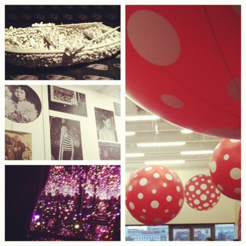 Kusama exhibit in London from spring. (Taken with Instagram)