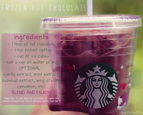 berryhealthy:  a nice refreshing summer treat without paying $5 at starbucks! haha.