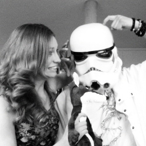 #stormtrooper (Taken with Instagram)