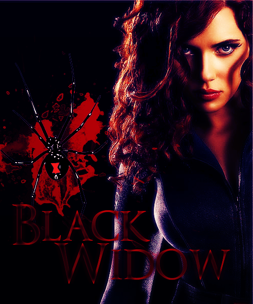 FIVE GRAPHICS PER AVENGER, BLACK WIDOW (2/5)