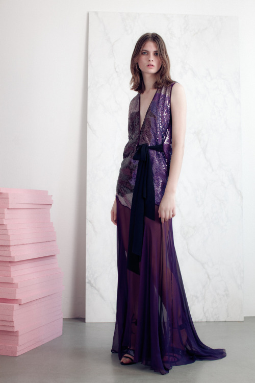 Relaxed glam in Vionnet's resort collection.