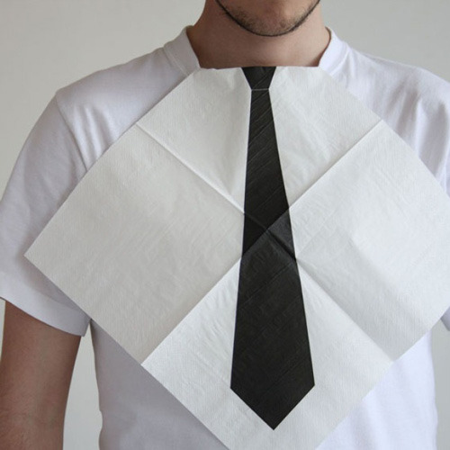 Necktie Napkins Available here