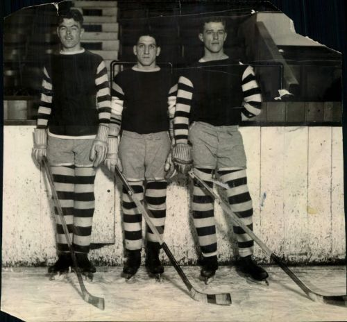 Myles Lane was the first American trained player to skate in the NHL. He was the latest surviving member of the Boston Bruins 1929 Stanley Cup Champions Team. He also played football and was a New York Supreme Court Justice. Jeremiah played the 1931-32 season in the NHL but was more know for this contribution to hockey as a coach. He won the Lester Patrick Trophy in 1969.