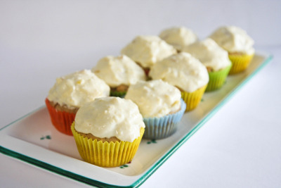 Chai Cupcakes with Honey Ginger Cream Cheese Frosting by Wendy A. Hern on Flickr.