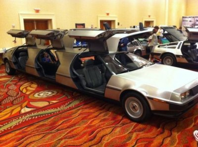 collegehumor:  Delorean Limo Proms? Where we're going, we don't need proms.