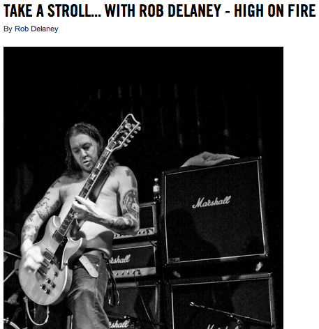 I wrote a fan letter to Matt Pike from High on Fire after he had to cancel some dates to go to summer camp for drunks.
