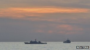 "Vietnam decries 'illegal' South China Sea oil bid Vietnam has protested against China's plan to invite foreign oil bids in a disputed area in the South China Sea, adding to tensions in the region. The foreign ministry said the move was ""illegal"" and a serious ""violation of Vietnam's sovereignty"". It added that the oil blocks are ""deep inside Vietnam's exclusive economic zone and not a contested area"". China's CNOOC oil company on Saturday said that nine offshore blocks were open to foreign bids this year. The China National Offshore Oil Corporation announced on their website that ""part of open blocks in waters under jurisdiction of the People's Republic of China"" were ""available for foreign co-operation"". Chinese Foreign Minister Hong Lei also said during a news briefing on Tuesday that the tender was ""normal business activity"" and asked that Vietnam ""not further complicate and aggravate the dispute"". Controversial But Vietnam disagrees. ""This is absolutely not a disputed area. [CNOOC's move] is illegal and of no value, seriously violating Vietnam's sovereignty,"" Vietnam's foreign ministry said in a statement. It added that China's move is ""causing tension"" in the South China Sea. The country's state-owned oil company, PetroVietnam, also called on international firms to boycott the bid invitation. Pictured: China has been recently stepping up its presence in the South China Sea"