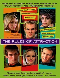 "I am watching The Rules of Attraction                   ""this movie is up there with cruel intentions ""                                Check-in to               The Rules of Attraction on GetGlue.com"