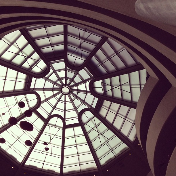 Guggenheim Museum, NYC. Amazing collection!