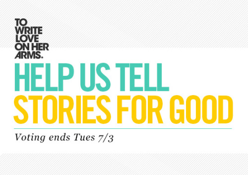 "Our ""Story Of"" video series is up for a $3,000 grant from GOOD Maker. Vote here: http://wrt.lv/Kn3gjs"