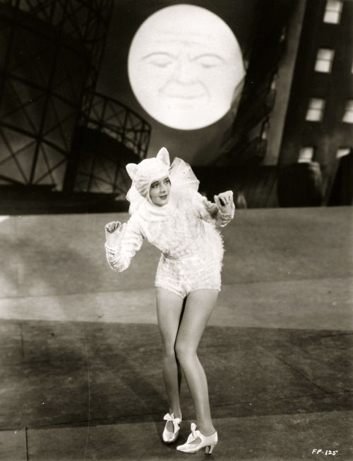 "valentinovamp:  Ruby Keeler in ""Footlight Parade"" (1933)."