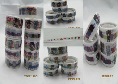 K-Pop Chibi Deco Tape Batch   Price: $3 Shipped to US  Designs Available:  Girls Generation TVXQ: ChangMin, YooChun, JaeJoong, YunHo, Junsu, and TVXQ SS3: KyuHyun, HeeChul, DongHae, LeeTeuk, EunHyuk, and SS3 SHINee: JongHyun, MinHo, Onew, TaeMin, Key, and SHINee Mr Simple: EunHyuk. LeeTeuk, HeeChul, Mr Simple, YeSung, ShinDong, RyeoWook, KyuHyun, SungMin, SiWon  If you are interested, please fill out an order form ^^ Send the form to: loveandmusicshoppes@yahoo.com Subject: Chibi Deco Tape (Must be this title or else it will be sent to Ling)   Pre-Order Batch Status (◡‿◡✿)