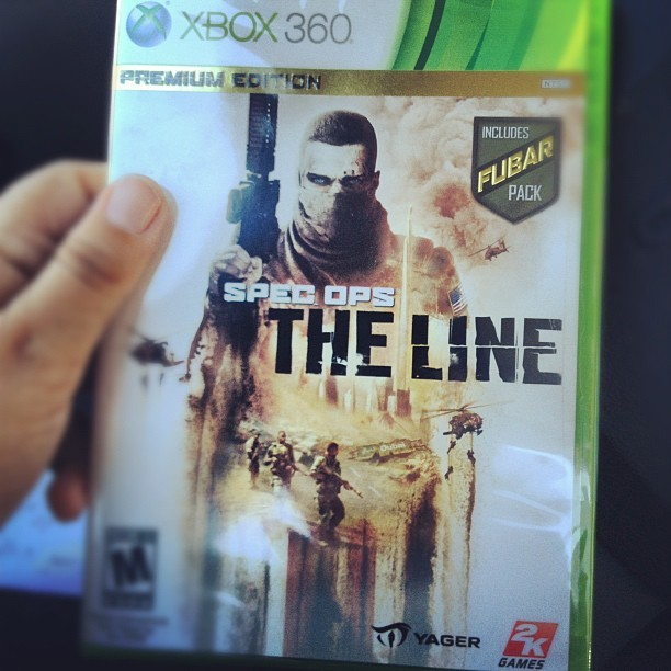 It's finally here! #specopstheline #specops #theline #xbox360 #videogames #gaming #gamers #fubar #premium #2k #2kgames #yager #workpayingoff #proudparent (Taken with Instagram)