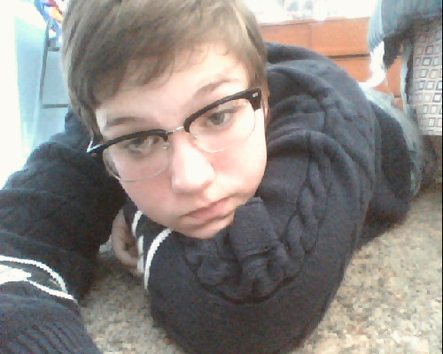 Sometimes I look five and take naps on the floor.