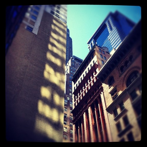 Wall street (Taken with Instagram)