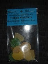 MmmM Edi-pure Tropical Fruit Tarts 250mg THC