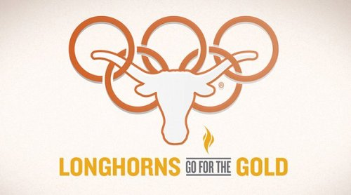 Congrats to all past and present Longhorns who are on their way to the Olympics - Hook 'Em!