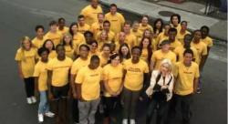 Cyndi Lauper Fights Homelessness, Empowers Youth with Forty to None Project The Forty to None Project, the first national organization to focus solely on youth homelessness and its impact on youth who are LGBT, was launched on Tuesday by the True Colors Fund, according to its Executive Director and co-founder Gregory Lewis. America's Next Generation, the inaugural PSA for Forty to None, was also released on Tuesday. The video features singer and advocate Cyndi Lauper, who co-founded the True Colors Fund and served as a Grand Marshal for the NYC Pride Parade on Sunday.