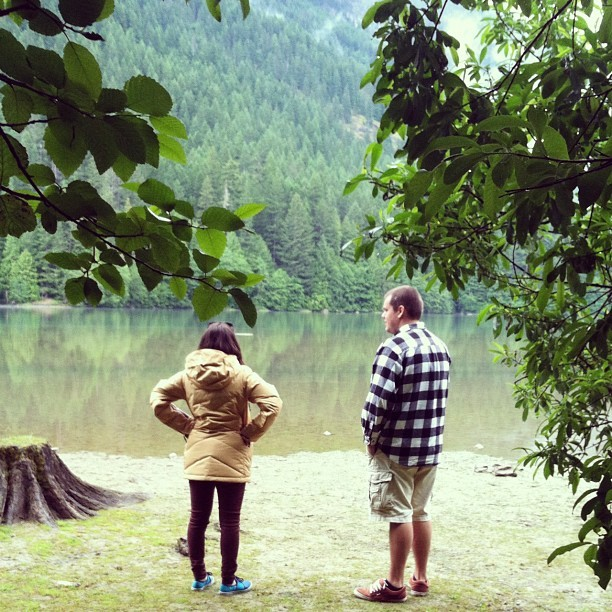Taken with Instagram at Diablo Lake