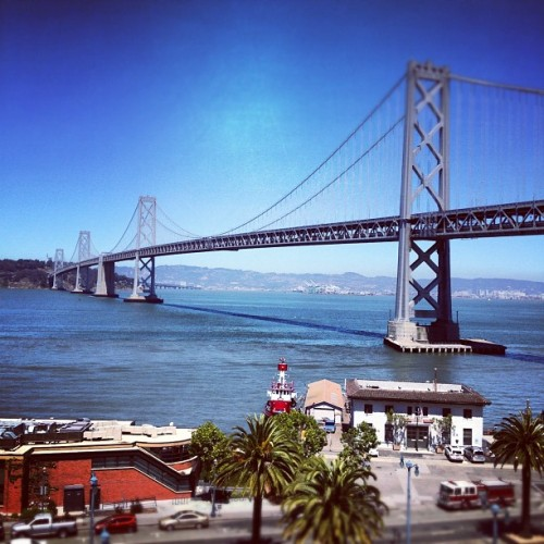 #bridge (Taken with Instagram at Google San Francisco)