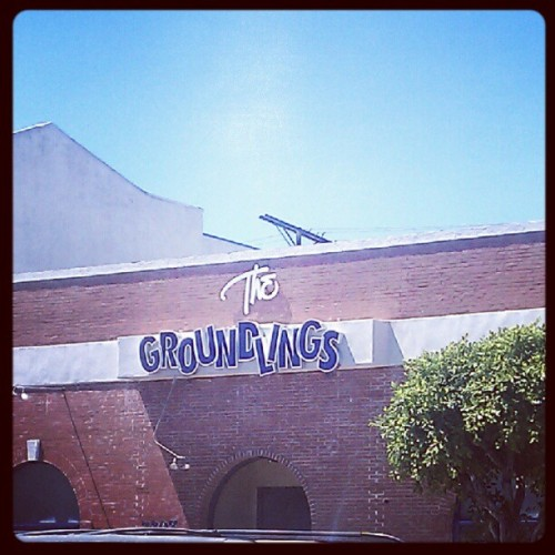 #groundlings #comedy #melrose #losangeles (Taken with Instagram)