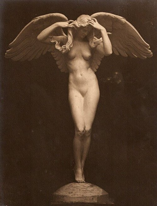 mventus:  Descending Night~Adolf Alexander Weinman  ;1915 Panama-Pacific Exposition