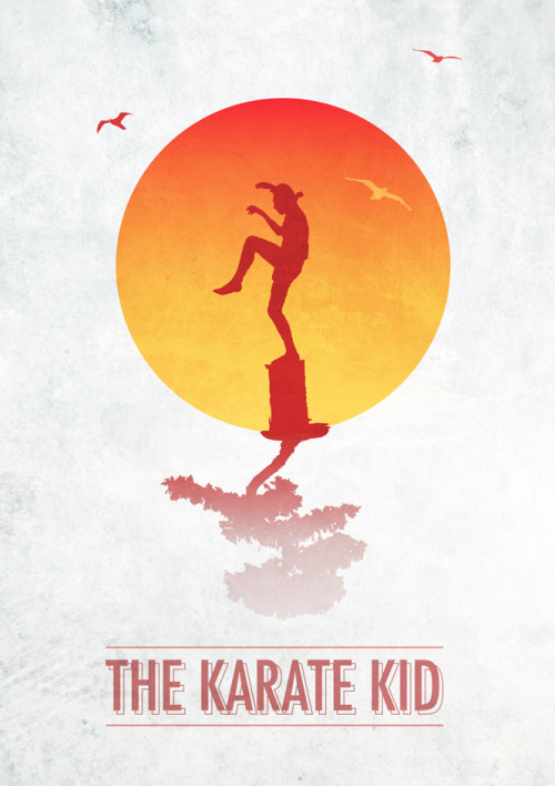 minimalmovieposters:  The Karate Kid by Ross McCully