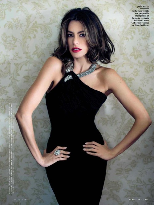 Sofia Vergara in 'Vanity Fair' Spain - July 2012