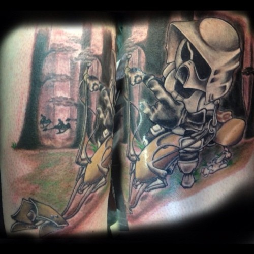 Scout trooper  (Taken with Instagram at No Egrets Tattoo)