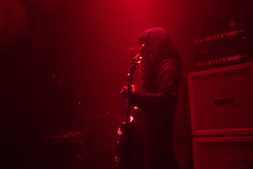 Stephen O'Malley @ Sunn O))) Photography by apes of doom