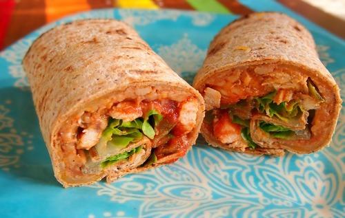 Chicken Fajita Wrap - Simply Taralynn