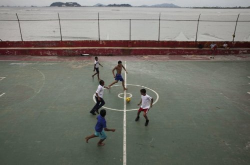 Where in the World Wednesday. Where is this water-side pitch?