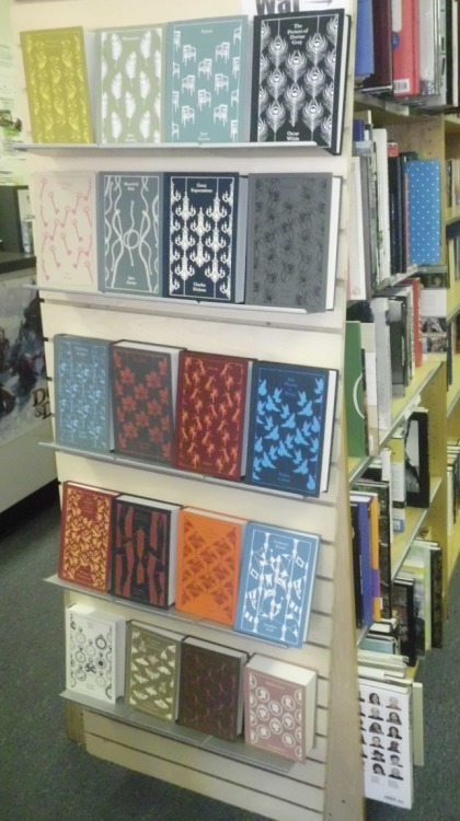 The beautiful cloth Penguin classics @ Backlist Books.