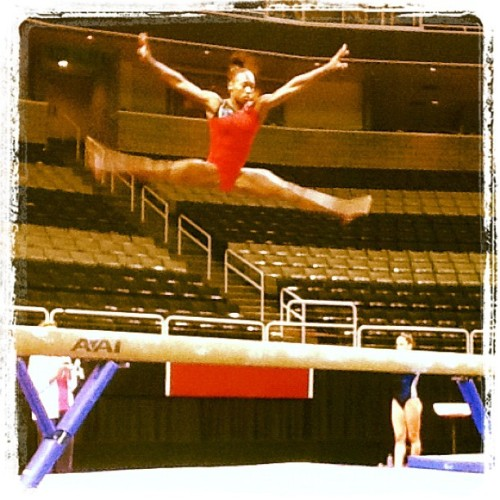 Olympian in action! (Taken with Instagram)