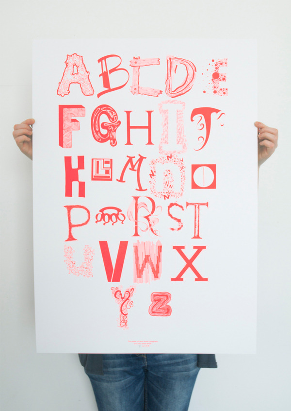 visualgraphic:  Hand Drawn Typography
