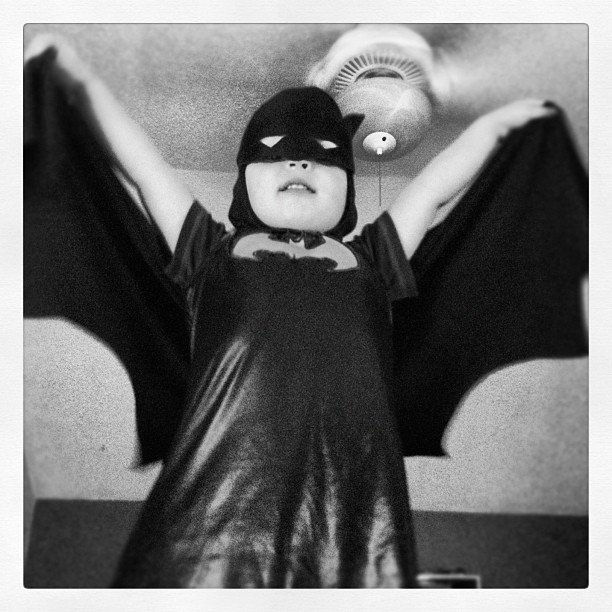 The Batman (Taken with Instagram at SirGeebz Abode)