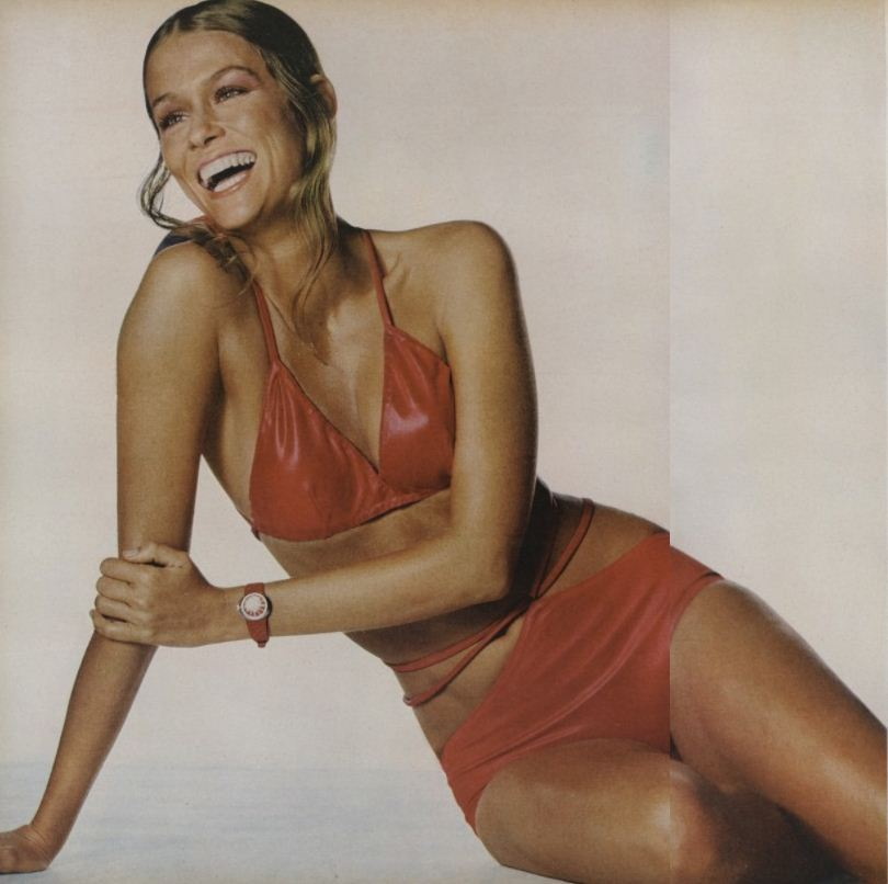 i wonder if we have this swimsuit in our archives. from vogue 1971.