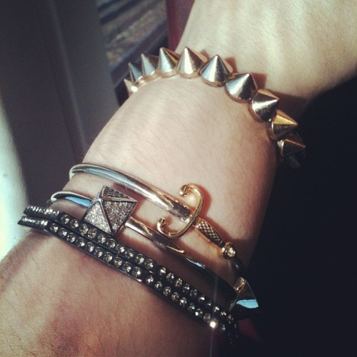 Left arm party- forever21 & Noir (Taken with Instagram)