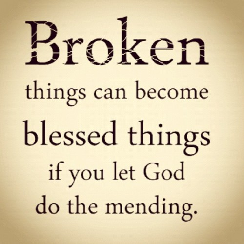 Give it all to God and He'll fix what's broken.  Put all your trust in Him. :) #spiritual #God #Lord #Jesus #hope #trust #trustinGod #life #broken #mending #fixing #trusting #quote #saying #words #endurance #relationships #anything #ipod #instagram #abundantcomfort #comfort #comforting #faith  (Taken with Instagram)