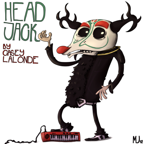 This is Head Jack by Casey LaLonde. He's an awesome artist and music maker, so I decided to do a little Fanart for him.I hope he'll like it…