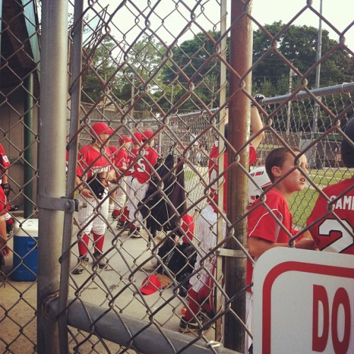 #littleleague #baseball #narragansett  (Taken with Instagram at Sprague Park)