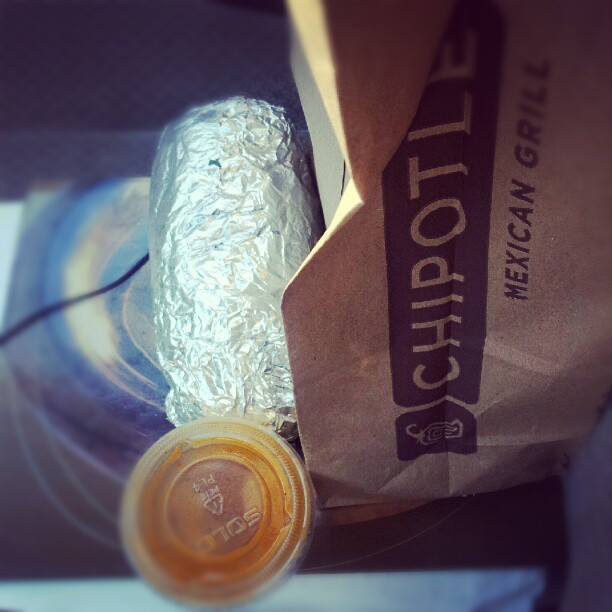 Bout to go to workz! #chipotle #food #hsv #amasome  (Taken with Instagram)