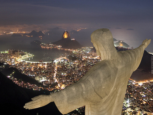 i want to go to rio de janerio & see christ the redeemer before i die.