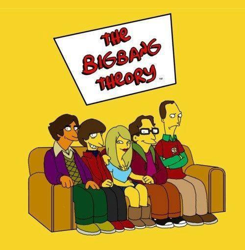 crisdias:  Big Bang Simpsons